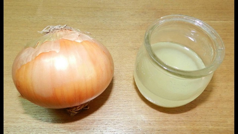 The benefits of onion juice
